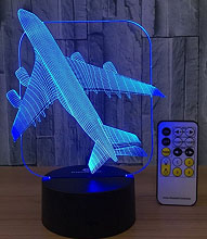 3d Night Light Beside Lamp – $22.99