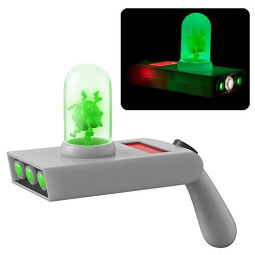 Rick and Morty Portal Gun Light-Up with Sound and Keychain – $29