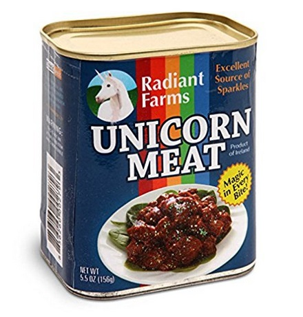 Canned Unicorn Meat – $12.18