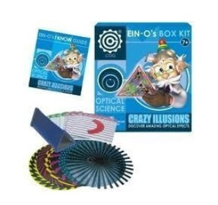 Science Crazy Illusions by Ein-O Science – $56.35