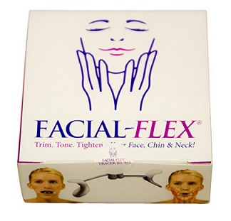 Facial Flex Facial Exercise and Neck Toning Kit Facial Flex Device – $41.95