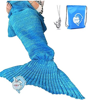 Mermaid Tail Blanket – $13.85