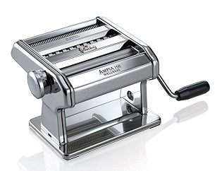 Marcato Atlas Ampia Pasta Machine, Made in Italy, Chrome Plated – $69.99