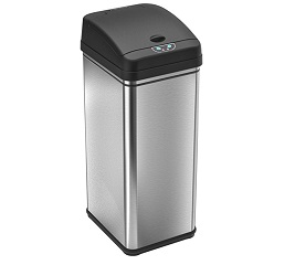 iTouchless Deodorizer Automatic Sensor Touchless Trash Can – $59.98